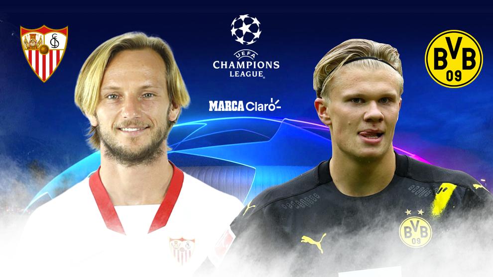 Sevilla vs Borussia Dortmund, en vivo online; UEFA Champions League.
