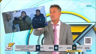 Diego Díaz ha recibido el repudio de los argentinos en las redes...