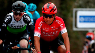 Nairo Quintana, en la primera etapa del Tour de los Alpes.
