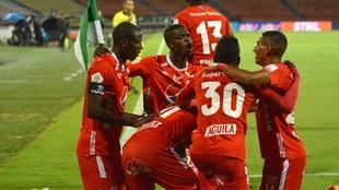 La última vez en el Atanasio, el partido terminó 3-1 a favor del...