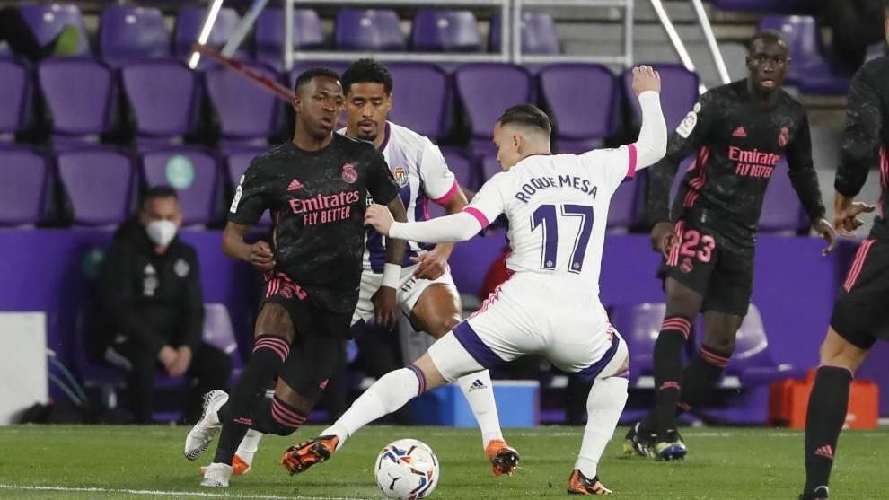El uno a uno del Real Madrid contra el Valladolid: Courtois también ...