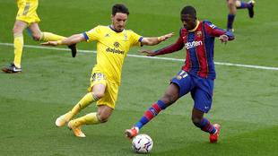 Dembélé sigue sin pesar en el Barcelona.