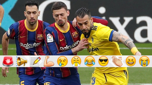 Otro penalti de Lenglet  complica LaLiga al Barça