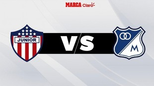 Horario de Junior vs Millonarios: en vivo online.