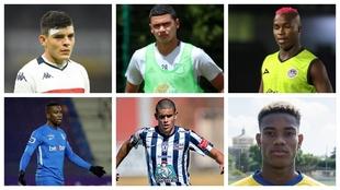 Jugadores juveniles que podrían llegar a la Selección Colombia.