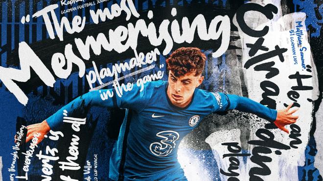 Havertz, el día que se anunció su fichaje por el Chelsea