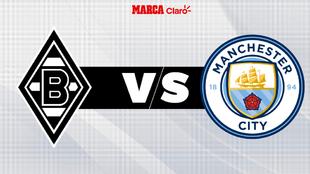 Borussia M'gladbach vs Manchester City, en vivo; Champions...