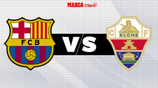 Barcelona vs Elche, en vivo online; LaLiga de España.