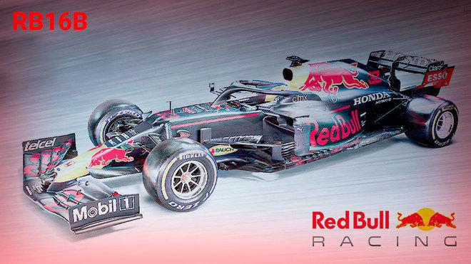 Así luce el RB16B con el que Red Bull espera arrebatarle el título a...