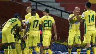 Bucaramanga venció a Nacional 3-2 en la fecha 9 de la Liga Betplay...
