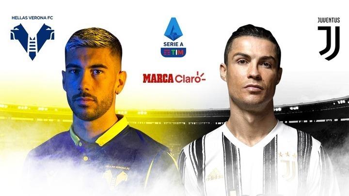 Hellas Verona vs Juventus, en vivo online: partido por la jornada 24 ...