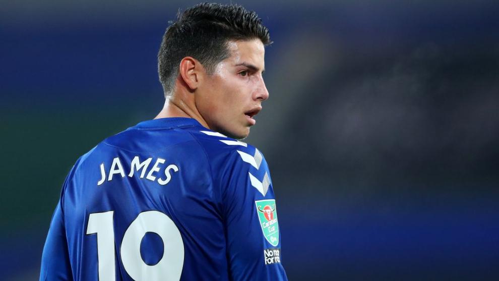 Las razones por las que James no estuvo en el partido entre EVerton y...