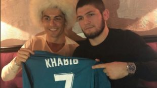 Khabib Nurmagomedov explicó el gran miedo que tiene Cristiano Ronaldo...