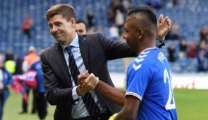 Steven Gerrard aleja a Alfredo Morelos de la polémica en el Rangers.