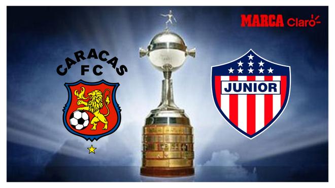 Caracas vs Junior: Resumen, goles y resultado del partido de ida de ...