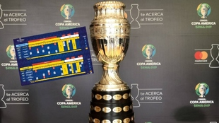 El trofeo que se levantará en El Metropolitano