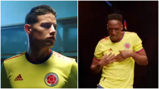 Nueva camiseta de la Selección Colombia para 2021.