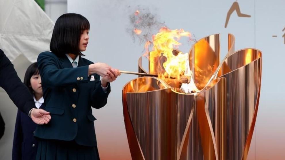 Inicia el recorrido de la antorcha olímpica