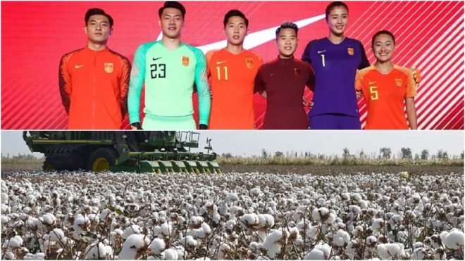 La selección de China con la firma estadounidense y una cosecha de...