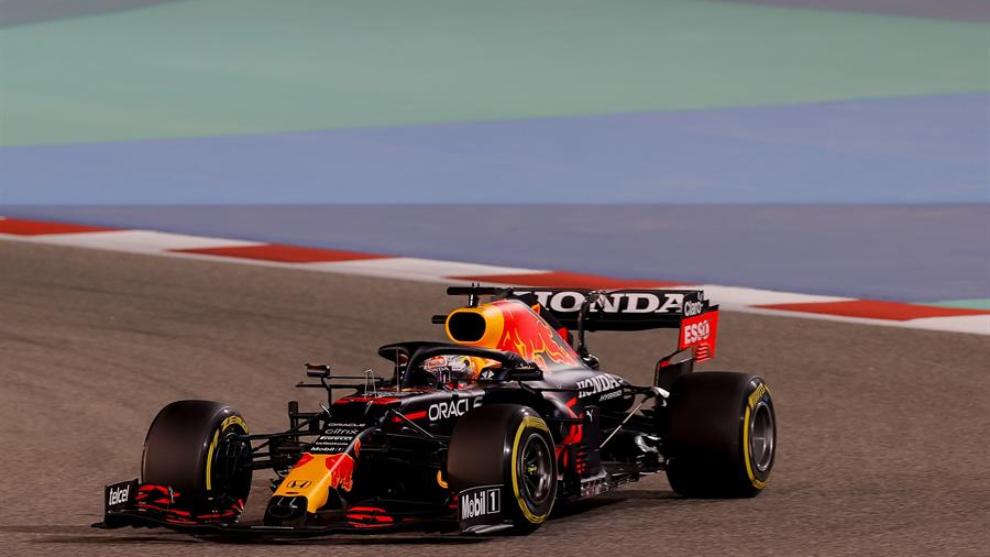 Verstappen, en la clasificación de Bahréin.