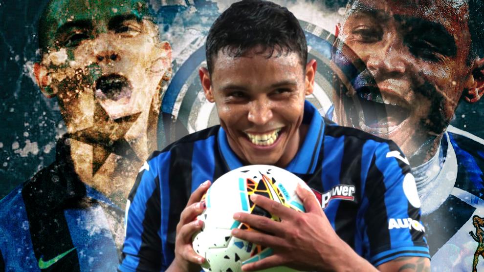 Italia ve en Luis Fernando Muriel el sucesor de Ronaldo en el Inter.