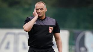 Srdjan Obradovic, en un partido.