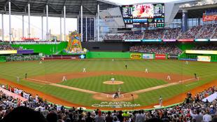 Estadio de los Marlins de Miami.