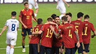 España recuperó las buenas sensaciones con su victoria ante Kosovo.