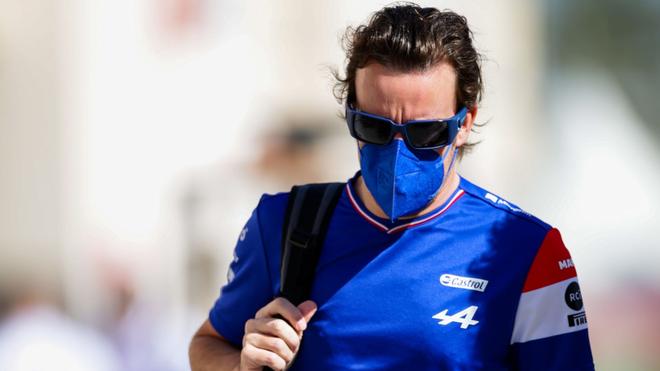 Fernando Alonso, piloto español.
