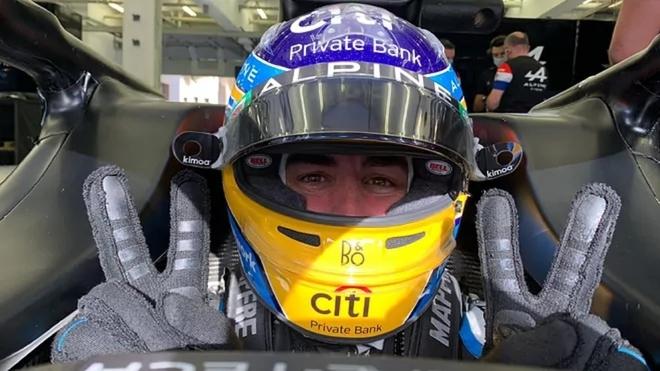 Fernando Alonso está de regreso esta temporada con Alpine en la...