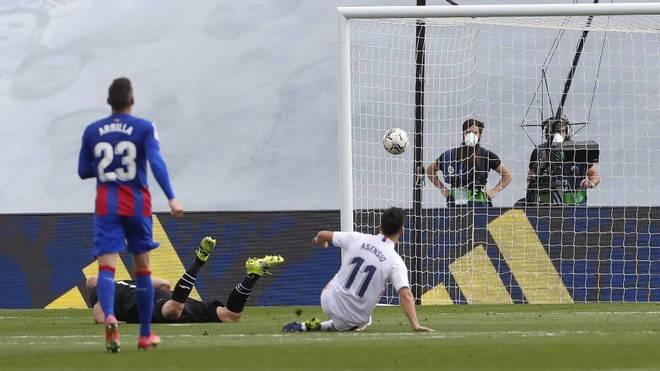 Asensio eleva el nivel del Real Madrid