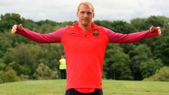 ¡Mathieu desvela que le obligaron a fichar por el Barcelona cuando ...