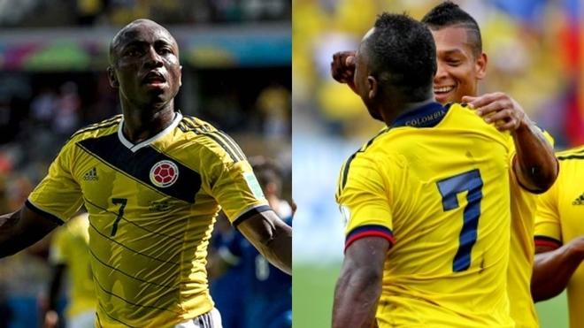 Pablo Armero le envía ánimos a Fredy Guarín.