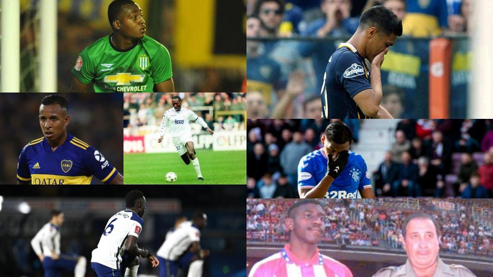 Futbolistas colombianos que han sido víctimas del racismo.