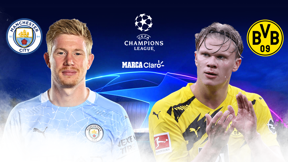 Manchester City vs Borussia Dortmund: partido de Champions League en...
