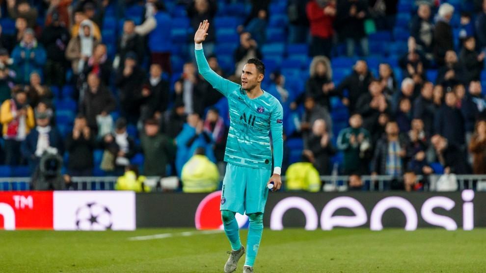 Keylor Navas, la llave del PSG para acabar con el Bayern