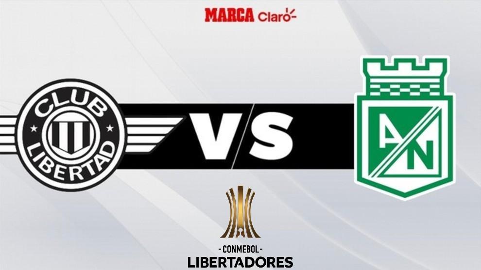 Libertad vs Atlético Nacional, partido en directo
