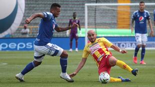 Guarín, en acción con Millonarios.