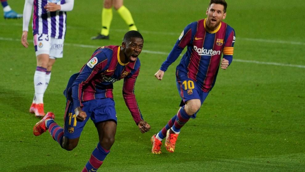 Dembélé, jugador del Barcelona