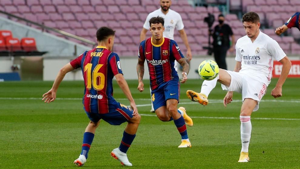 Pedri y Valverde