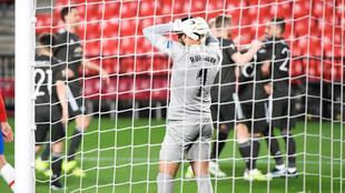 Granada perdió 0-2 ante Manchester United en la Europa League.