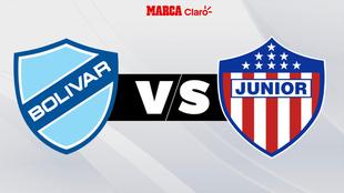 Bolívar vs Junior: en directo y en vivo el partido por Libertadores.