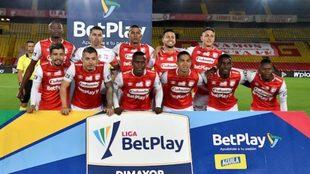 Independiente Santa Fe en el grupo D de la Libertadores.