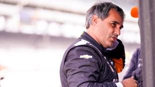 Juan Pablo Montoya finalizó sexto en al jornada de entrenamientos de...