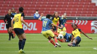 Catalina Usme, jugadora de la Selección.