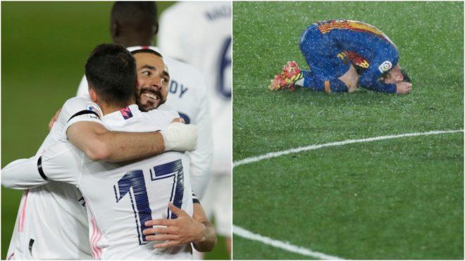 El Real Madrid vuelve a dominar al Barcelona en los números