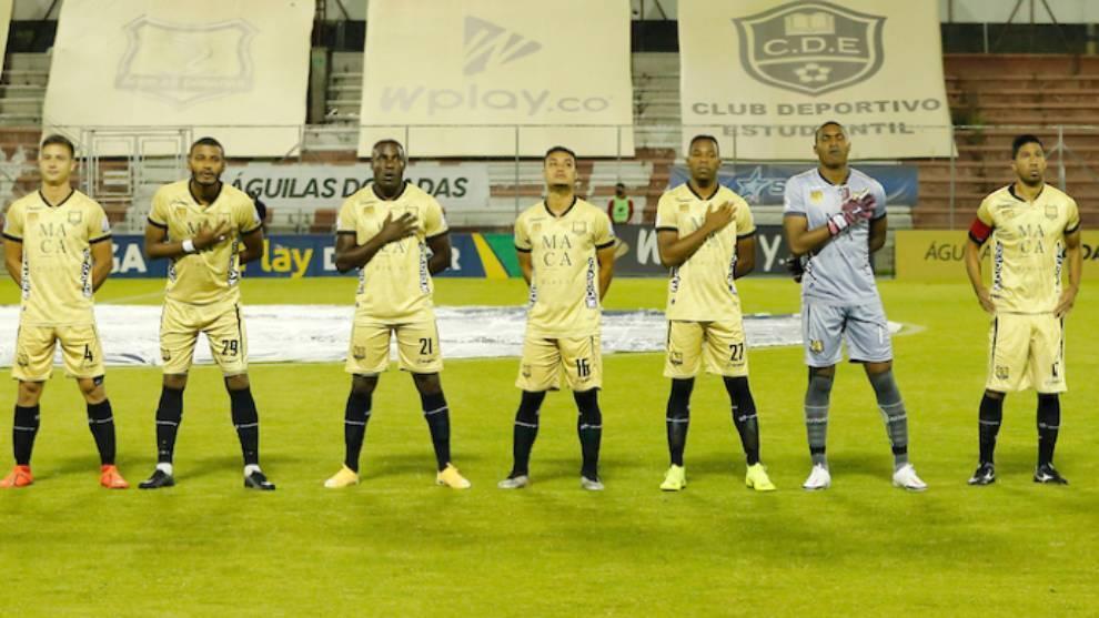 Águilas jugará con 7 jugadores ante Boyacá Chicó.