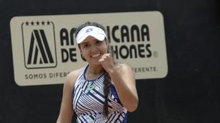 María Camila Oosorio se corona campeona del WTA de Bogotá