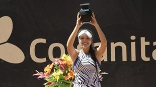 María Camila Osorio, campeona de la Copa Colsanitas 2021.