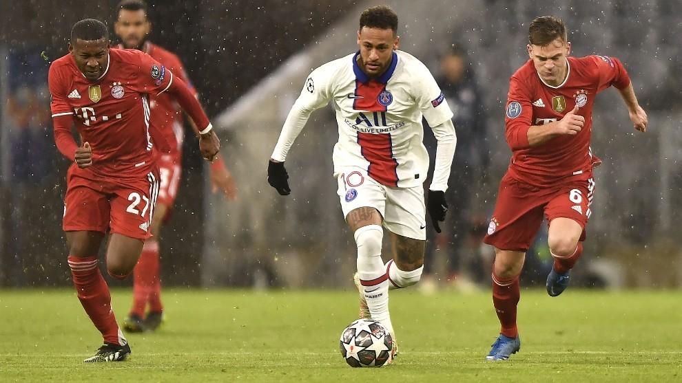 Neymar, futbolista del PSG